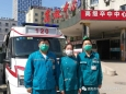 我院支援北京入境分流防控工作组出征