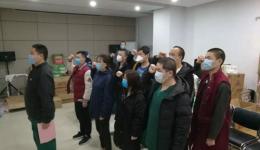 """洛阳市中心医院CT室张喆,抗疫一线""""火线""""入党"""
