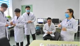 肝胆胰脾疝外科二病区举办住培医师技能比武——打结