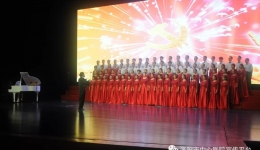 我院合唱队获洛阳市合唱比赛金奖