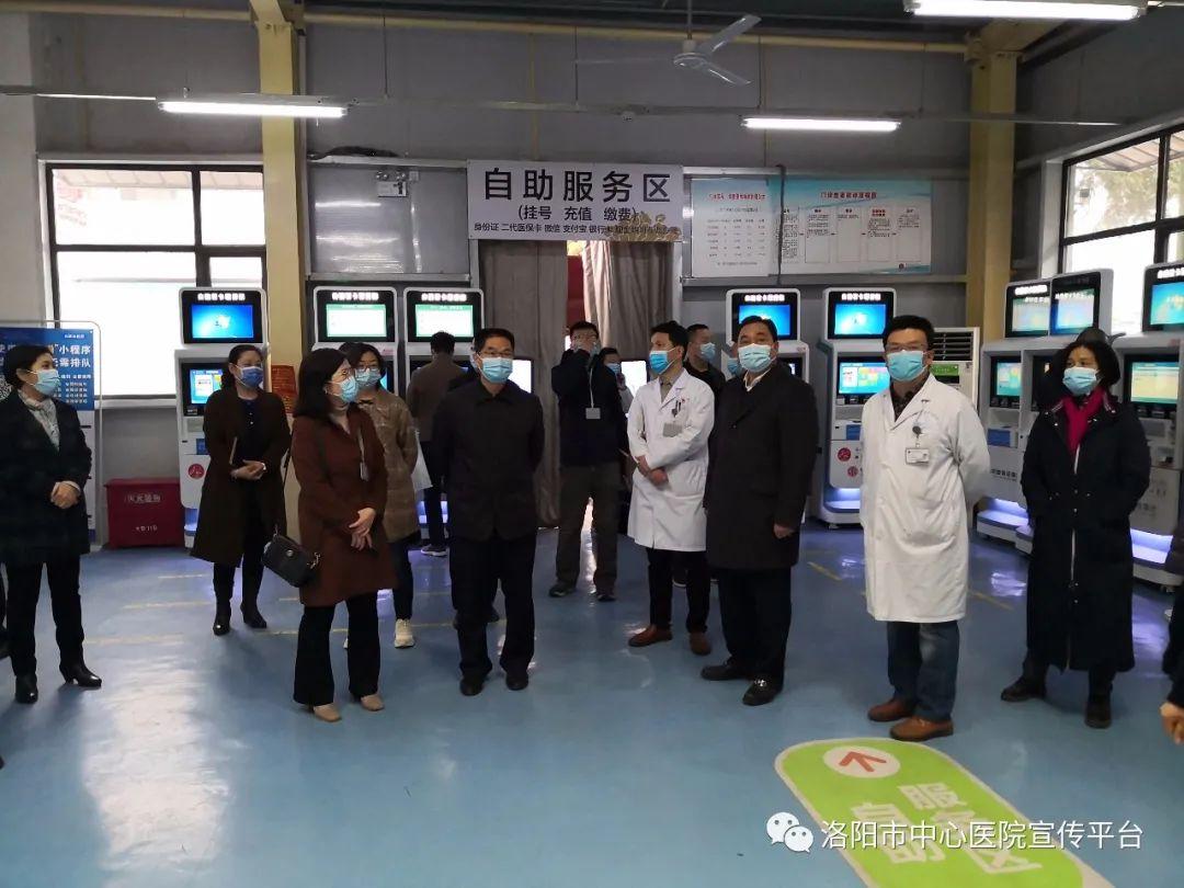 院领导春节假期调研 医院发展步入快车道