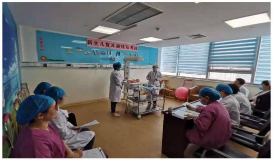 守护生命的花开——我院产科举行新生儿复苏全员考核记