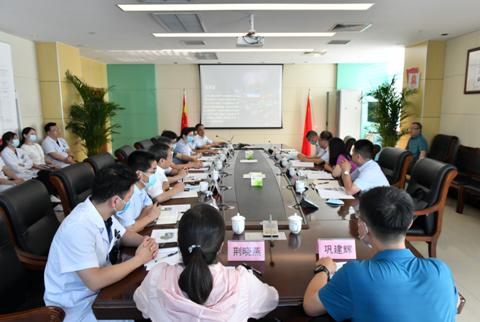 河南省发改委领导莅洛调研国家呼吸区域医学中心建设工作